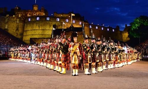 Edinburgh's Military Tattoo at the Castle