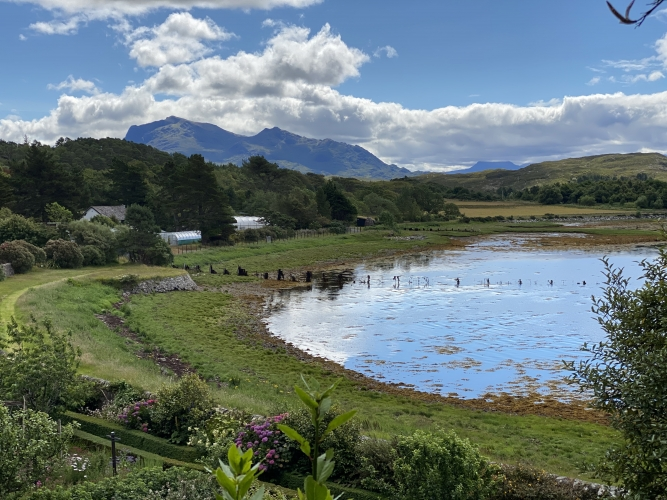 Poolewe, NW Highlands of Scotland