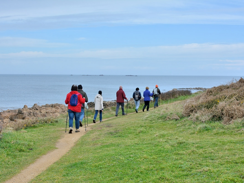 Coastal, river and country paths