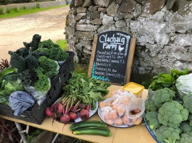 Local produce for sale
