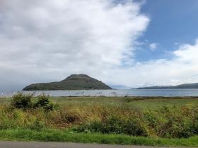 Holy Island in Lamlash Bay