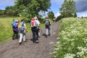 Summer guided group walks in Scotland