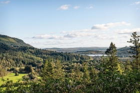Cowal Peninsula on the Clyde Estuary